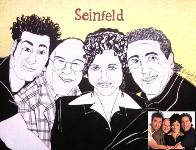 Seinfeld drawing